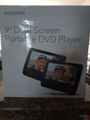 "9"" Dual Screen Portable DVD Player for Sale in Port St. Lucie, FL"