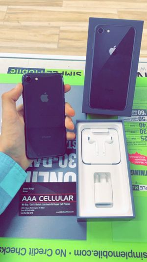 iPhone 8, 64GB, AT&T and Cricket! for Sale in Arlington, TX