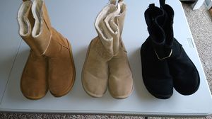 BLOW OUT SALE American Eagle Ankle Boots Suede & Faux Fur for Sale in Dublin, OH