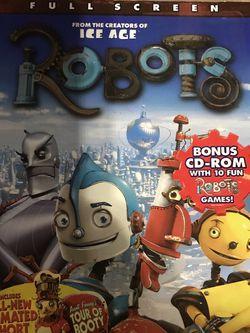 Robots Full Screen Dvd Movie for Sale in Elma,  WA