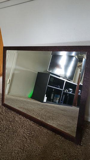 Wood framed wall mirror for Sale in Orange, CA