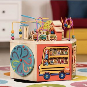 B Toys Wooden Activity Center Youniversity for Sale in Minneapolis, MN