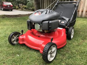 Nice Yard Machines EZ Start Lawn Mower with Rear Bag for Sale in Portland, OR