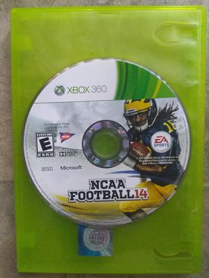 Ncaa Football 14 Xbox 360 for Sale in Fresno, CA