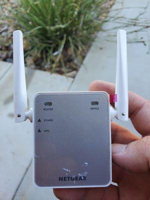 Netgear WiFi Range Extender for Sale in Beaumont, CA