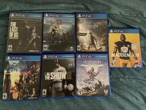 PS4 GAMES FOR THE LOWWWW!!! for Sale in San Diego, CA
