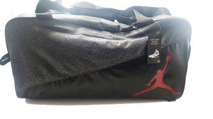 Jordan Elemental Duffle Bag Dark Gray Medium Jumpman Red for Sale in Orlando, FL