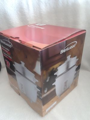 Brentwood 4 cups rice cooker with steamer for Sale in Southwest Ranches, FL