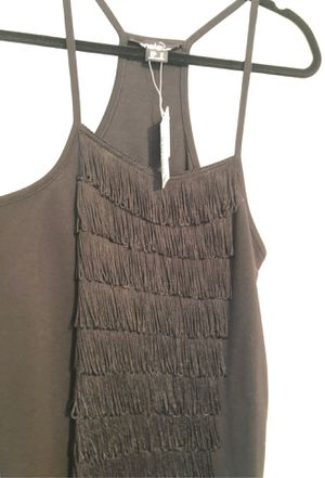 NWT tank top w fringe. Size M for Sale in Salinas, CA