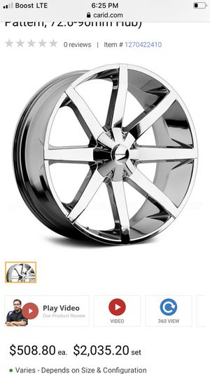 22 inch kmc rims (Charger,challenger,chrysler300) for Sale in Upland, CA