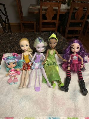 Ever after high, monster high, Disney , lol dolls for Sale in Roselle, IL