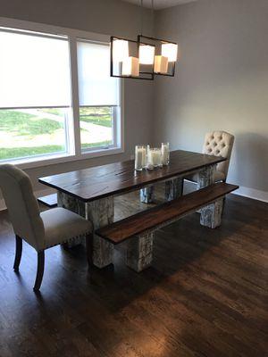 Custom Built Farmhouse Dining Table for Sale in Nashville, TN