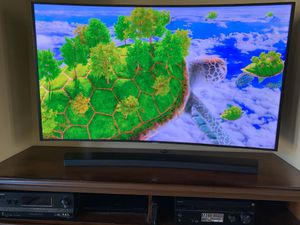 """Samsung 55"""" SUHD QLED tech 4K 3D with 4 pairs glasses for Sale in Bonita, CA"""