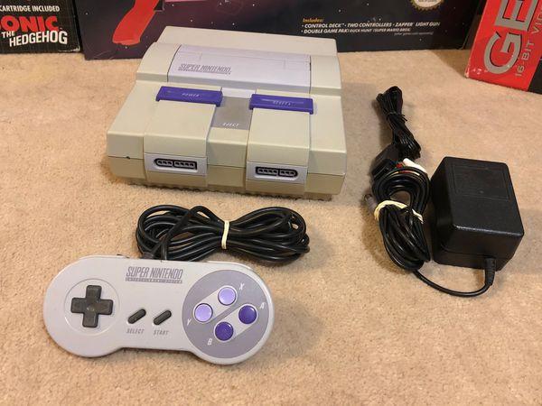 Super Nintendo Video Game System