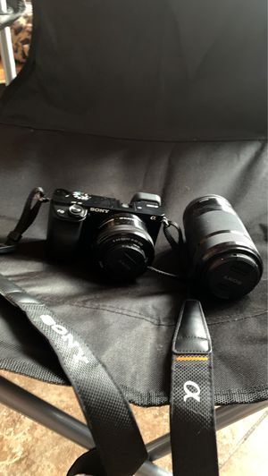 Sony Camera a6000 for Sale in La Habra Heights, CA