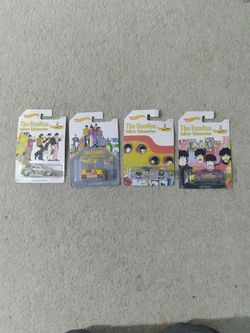 The Beatles Yellow Submarine hot wheels cars for Sale in Los Angeles,  CA