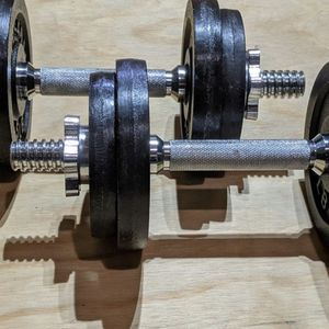 Yes4all Adjustable Dumbbells - 50 Lbs for Sale in Redmond, WA