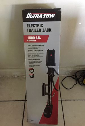 Electric trailer jack Brand New in box for Sale in Riverview, FL