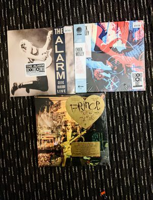 VINYL RECORDS AND CDS PRINCE, CHUCK MOSLEY, THE ALARM for Sale in Ontario, CA