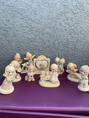 Precious Moments figurines. Lot of 9 $ 60 for Sale in Henderson, NV