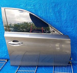 2014 2015 2016 2017 2018 2019 2020 INFINITI Q50 FRONT RIGHT PASSENGER SIDE DOOR GRAY for Sale in Fort Lauderdale, FL