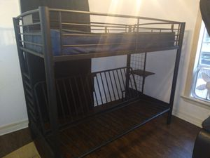 Bunk bed/ full/twin, or futon on the bottom. for Sale in Houston, TX