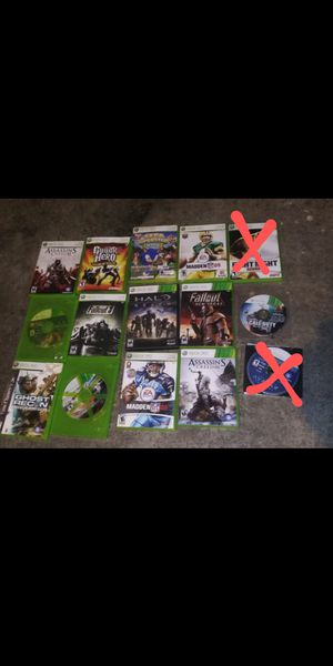 Xbox 360 games for Sale in Vancouver, WA