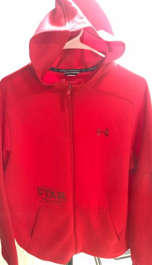 Red Utah hoodie size L for Sale in Fresno, CA