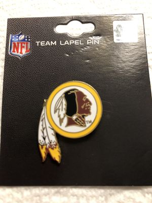 New NFL Washington Redskins Lapel Pin for Sale in Fort Washington, MD