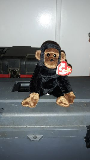 Congo the monkey ty beanie babie for Sale in League City, TX