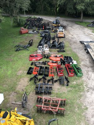 Tractor and skid steer attachments for Sale in Zephyrhills, FL