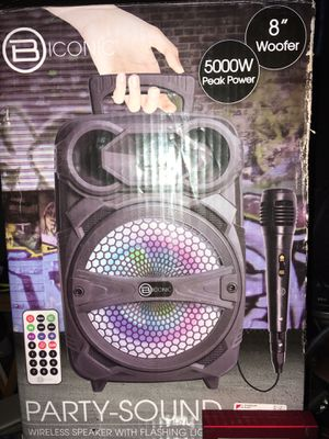 Biconic Party Sound Wireless Speaker for Sale in Nowthen, MN