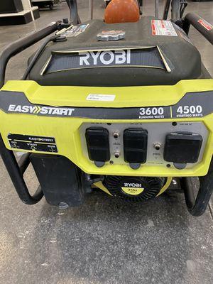 Ryobi 4500 watts generator for Sale in Austin, TX