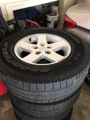 Jeep wheels for Sale in Fayetteville, GA
