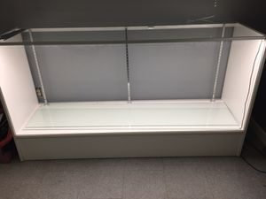 Display case with shelves and led lighting for Sale in Manassas, VA
