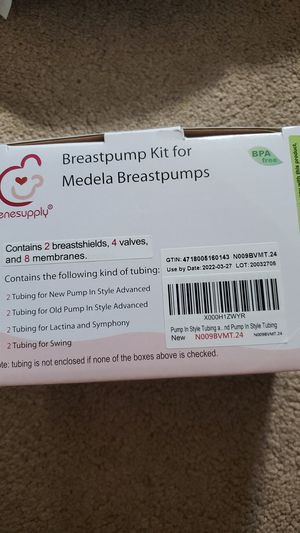 Breastpump kit for Medela for Sale in Monterey Park, CA
