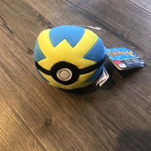 NEW POKEMON QUICK BALL PLUSH for Sale in San Diego, CA