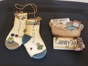 Laundry Room Decoration for Sale in Barstow, CA