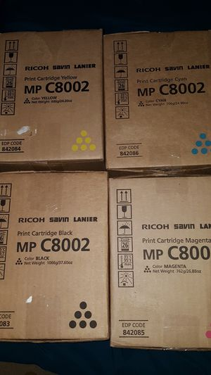 Ricoh print cartridges for Sale in Centreville, VA