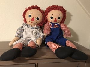 Raggedy Ann and Andy for Sale in Bothell, WA