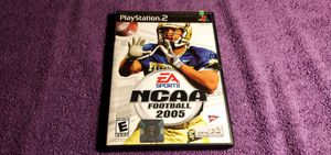 NCAA FOOTBALL 2005 PS2 GAME COMPLETE for Sale in Missouri City, TX