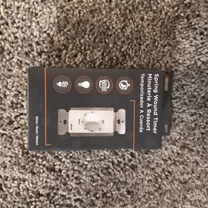 HOME ESSENTIALS BRAND-NEW : Dimmers, Mechanical Wall Thermostat, Spring Wound Timer, Switches Interrupters, etc for Sale in Tacoma, WA