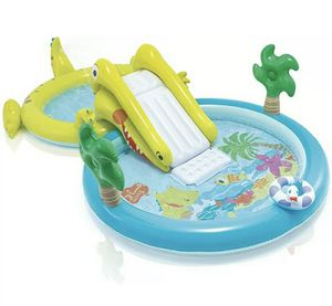 Intex Gator play center + pool for Sale in Fort Belvoir, VA