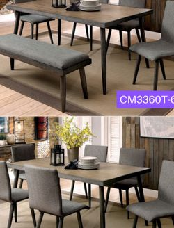 Modern Dining Table Set item #CM3360T-BN for Sale in Santa Ana,  CA