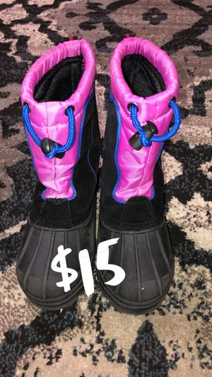 Girls Kids Snow Boots Shoes Pink Child Winter Sports/ (See My Page for Jordans Shoes and Other Discounted Items) for Sale in Los Angeles, CA