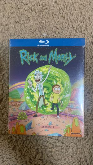 Rick and Morty Season 1 Blu-ray set for Sale in Stockton, CA