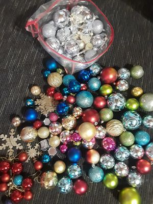 Christmas decoration, over 100 pcs. for Sale in Riverside, CA