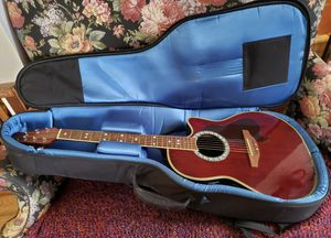 Ovation Celebrity Model CC148 Acoustic Electric Guitar, Rare Anniversary Edition + Extras for Sale in Manassas, VA