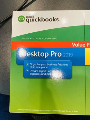 QuickBooks Pro 2019 license and Installation CD/DVD for Sale in North Palm Beach, FL