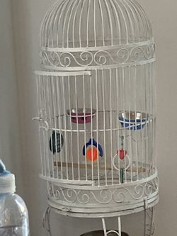Two Bird Cages , Two Birds , Bird Equipments for Sale in Redwood City,  CA